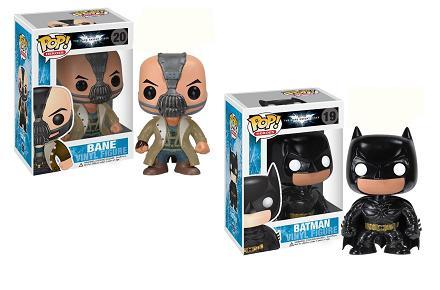 Muñecos cabezones The Dark Knight Rises