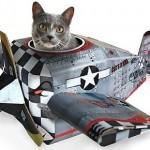 Juguete de cartón para gatos