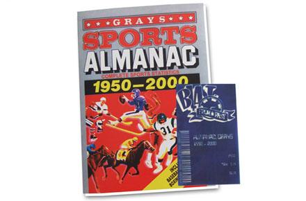 Almanaque deportivo Regreso al Futuro