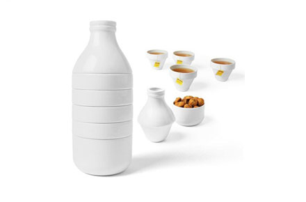Juego de tazas de café y té «WithMilk»