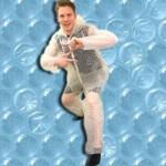 Traje de burbujas