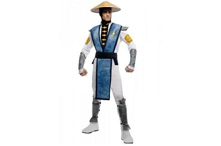 Disfraz de Raiden de Mortal Kombat