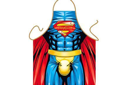 Delantal Superhéroe sexy Ladykiller