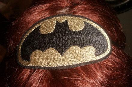 Diadema símbolo de Batman