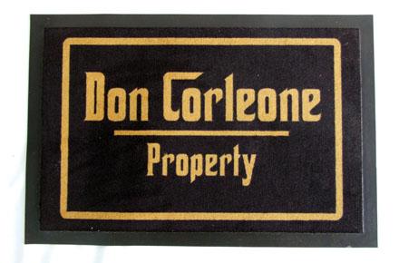 Felpudo Don Corleone