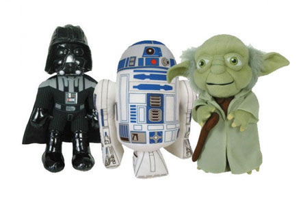 Set de peluches Star Wars