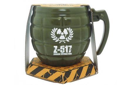 Taza con forma de granada