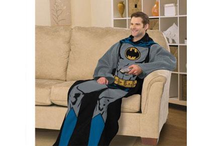 Manta y traje de Batman