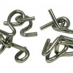 Puzzles de nudos metálicos