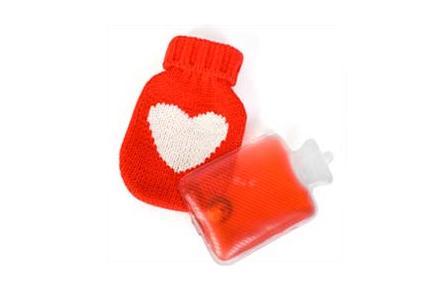 Mini bolsas de agua caliente