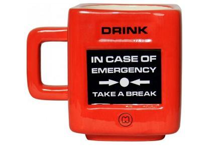 Taza friki de emergencias