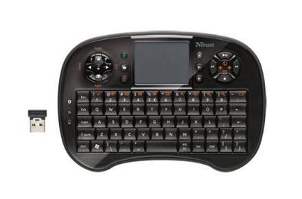 Teclado inalámbrico con forma de mando Mega Drive