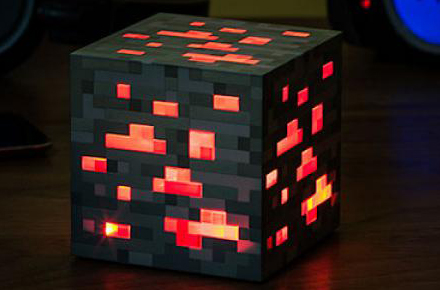 Lámpara de Minecraft