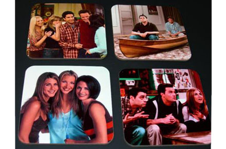 Pack de cuatro posavasos de Friends