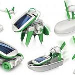 Robot Solar Verde 6 en 1