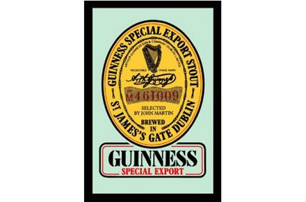 Espejo Guinness