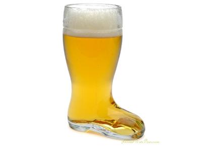 Vaso con forma de Bota para cerveza