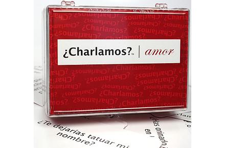"Juego de mesa ""Charlamos"""