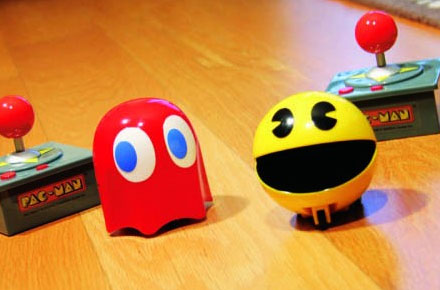 Pac-man y Fantasma radiocontrol