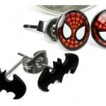Pendientes de Superhéroes de Comics