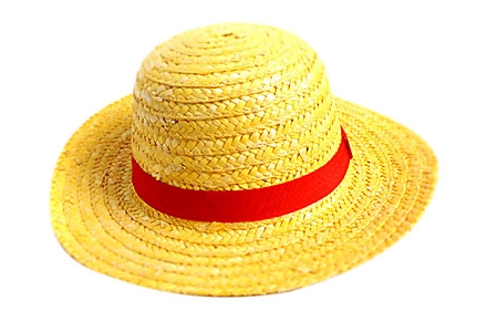 Sombrero de paja Luffy, One Piece