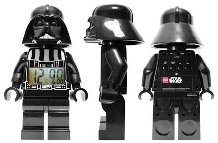Reloj despertador Darth Vader LEGO