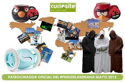 Nuestro #FrikiDeLaSemana cumple un año con un nuevo sorteo en mayo gracias a Curiosite