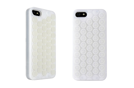 Funda de iPhone 5 con burbujas explotables