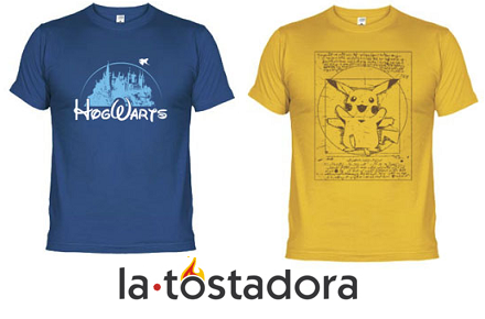 Código promocional de La Tostadora con un 10% de descuento en todas sus camisetas