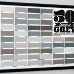 Póster Cincuenta sombras de Grey
