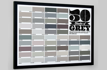 Póster 50 sombras de Grey