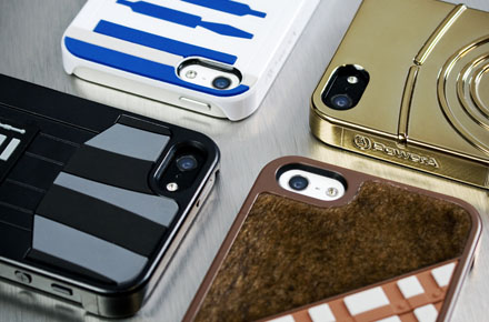 Fundas para iPhone 5 edición limitada Star Wars