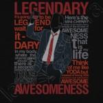 Camiseta Legendaria de Barney Stinson