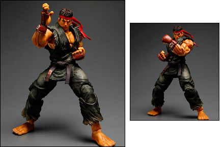 Figura de Evil Ryu, Street Fighter