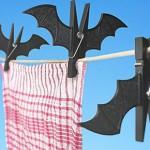 Pinzas con forma de murciélago
