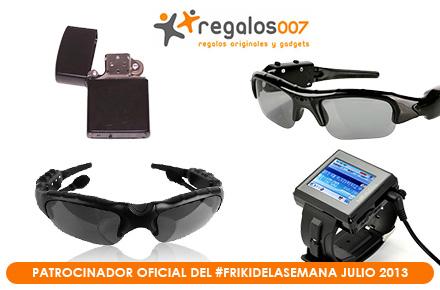 Nuevo especial de sorteos de regalos con el #FrikiDeLaSemana de julio con Regalos007