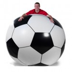 Pelota inflable gigante