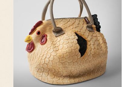 Bolso de gallina