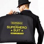 Funda friki para auténticos trajes de Super Héroe