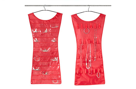 Joyero organizador «Vestido rojo»