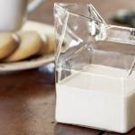 Mini cartón de leche