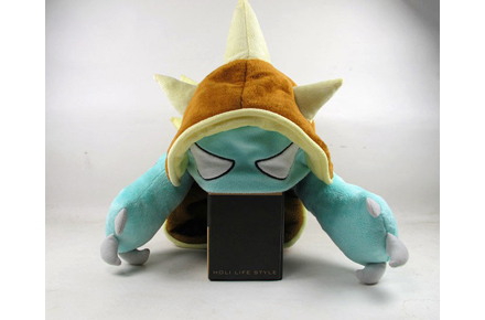 Gorro peluche de Rammus del League of Legends