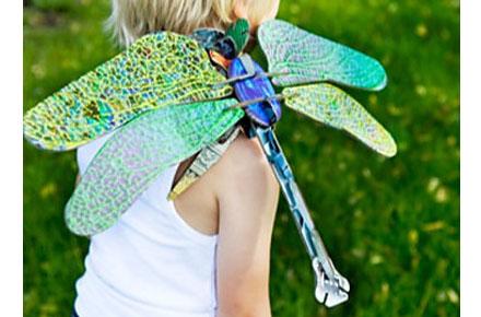 Libélula de Cartón «Totem Dragonfly»