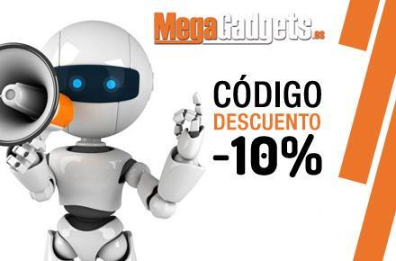 Código promocional en exclusiva para nuestros lectores de MegaGadgets con un 10% de descuento