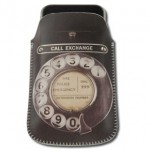 Funda iPhone teléfono viejo