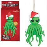 Muñeco de decoración navideño Cthulhu Muérdago