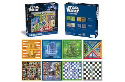 20 juegos de mesa clásicos versión Star Wars