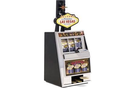 "Hucha máquina tragaperras ""Las Vegas"""