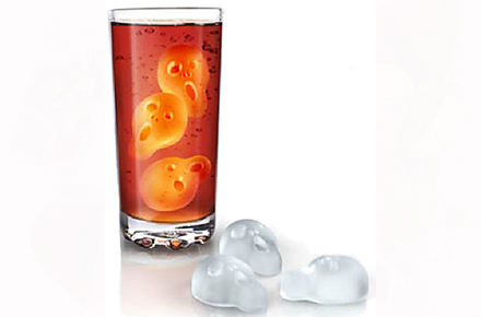 """Molde para cubitos de hielo con forma de """"El Grito"""""""