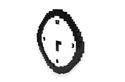 Reloj pixelado